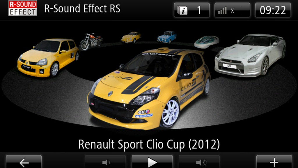 clio rs sound effect